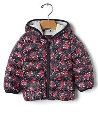 ColdControl Lite print puffer jacket
