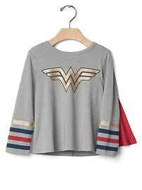Junk Food&#153 Wonder Woman&#153 ケープTシャツ