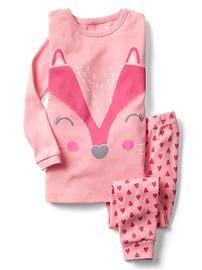 Fox face sleep set