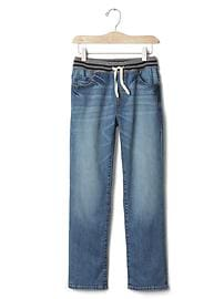 1969 pull-on straight jeans