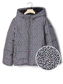 ColdControl Max print quilted jacket