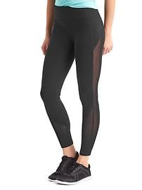 GapFit Blackout Technology gFast mesh-panel leggings