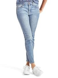 STRETCH 1969 true skinny ankle jeans