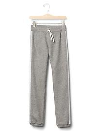Shimmer stripe marled sweats