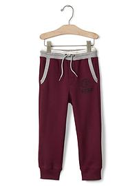 Athletic logo joggers