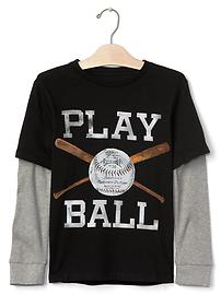 Sporty 2-in-1 tee