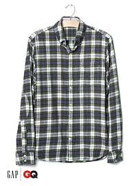 Gap x GQ Michael Bastian plaid flannel shirt