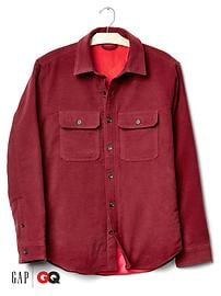 Gap x GQ Steven Alan ColdControl moleskin shirt jacket