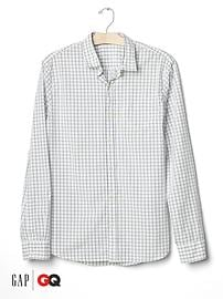 Gap x GQ Steven Alan check print shirt
