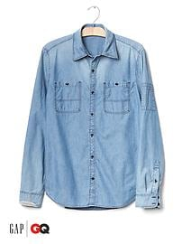 Gap x GQ Michael Bastian denim shirt