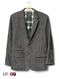 Gap x GQ Michael Bastian tweed blazer