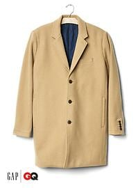 Gap x GQ Saturdays New York City camel topcoat