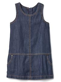 1969 denim jumper dress