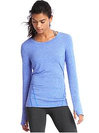 GapFit Breathe spacedye pullover