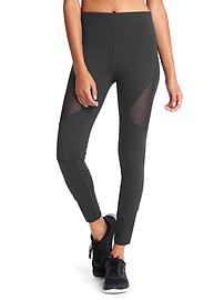GapFit Blackout Technology gFast mesh block high rise leggings