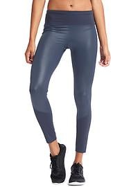 GapFit Blackout Technology gFast shine-front high rise leggings