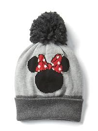 babyGap &#124 Disney Baby Minnie Mouse pom-pom hat