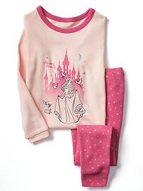 babyGap &#124 Disney Baby Sleeping Beauty graphic sleep set