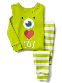 babyGap &#124 Disney Baby Mike Wazowski graphic sleep set