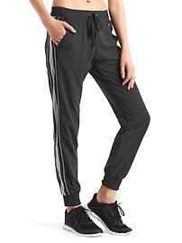 GapFit stripe-panel pants