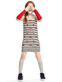 GapKids &#124 Disney Mickey Mouse and stripes sweater dress