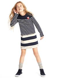 GapKids &#124 Disney Minnie Mouse stripe shift dress