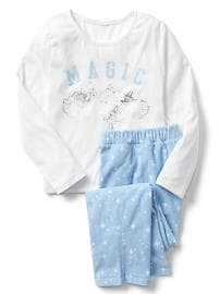 GapKids &#124 Disney Princess graphic PJ set