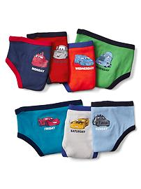 babyGap &#124 Disney Baby Cars days-of-the-week briefs (7-pack)