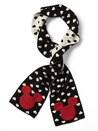 GapKids &#124 Disney Mickey Mouse reversible scarf