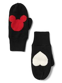 GapKids &#124 Disney Mickey Mouse intarsia mittens
