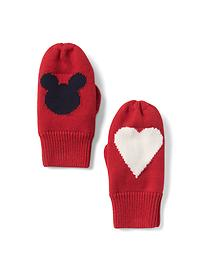 babyGap &#124 Disney Baby Mickey Mouse intarsia mittens