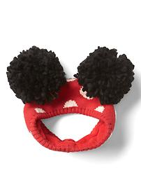 babyGap &#124 Disney Baby pom-pom ear warmer