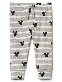 babyGap &#124 Disney Baby Mickey Mouse and stripes pants
