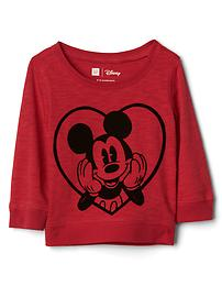 babyGap &#124 Disney Baby Mickey Mouse slub top