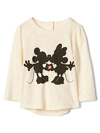 babyGap &#124 Disney Baby Mickey Mouse and Minnie Mouse slub top