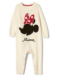 babyGap &#124 Disney Baby Minnie Mouse sweater one-piece