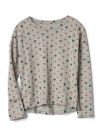 GapKids &#124 Disney Mickey Mouse and hearts tee