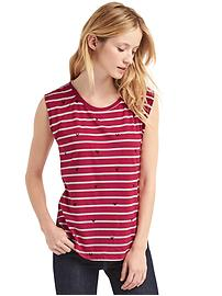 Gap &#124 Disney Mickey Mouse and stripes tee