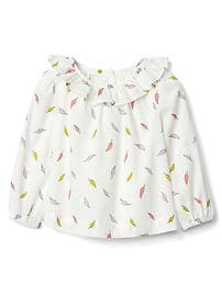 babyGap &#124 Disney Baby Dumbo ruffle feather top