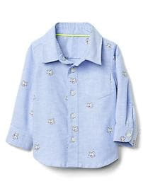 babyGap &#124 Disney Baby Dumbo oxford shirt