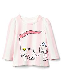 babyGap &#124 Disney Baby Dumbo striped sweatshirt