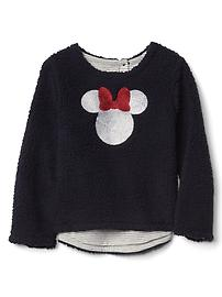 babyGap &#124 Disney Baby Minnie Mouse embellished cozy pullover