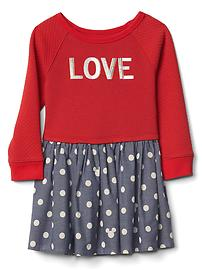 babyGap &#124 Disney Baby Minnie Mouse drop waist dress