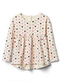 babyGap &#124 Disney Baby Mickey Mouse and hearts swing top