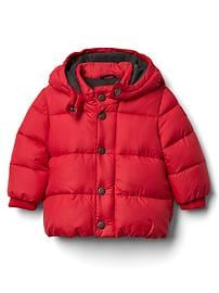 Warmest quilted puffer jacket