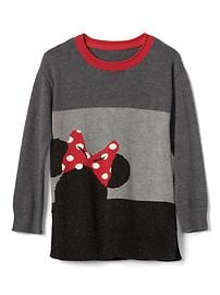 babyGap &#124 Disney Baby Minnie Mouse colorblock sweater tunic