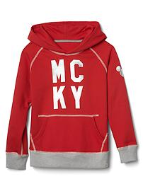GapKids &#124 Disney Mickey Mouse embellished colorblock hoodie