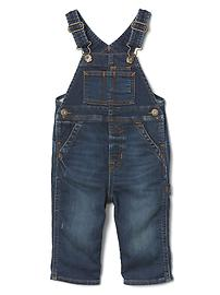 1969 supersoft denim overalls