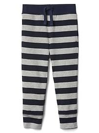 Stripe jogger pants
