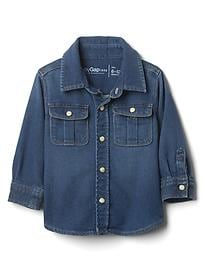 1969 supersoft denim shirt